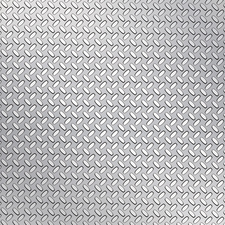 Fluted metal texture. Vector Illustration  Vector
