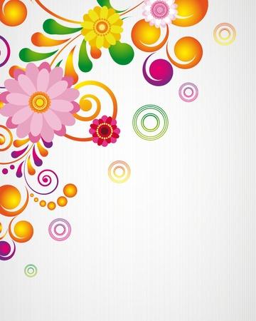 translucent: Carta regalo. Sullo sfondo del disegno floreale.