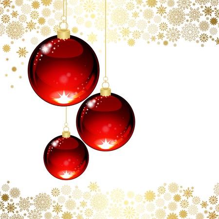 translucent: Sfera trasparente di Natale Vettoriali