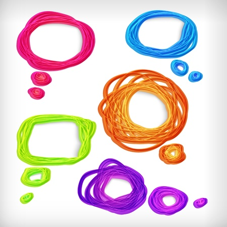 Achtergrond van abstract idee bubbels.