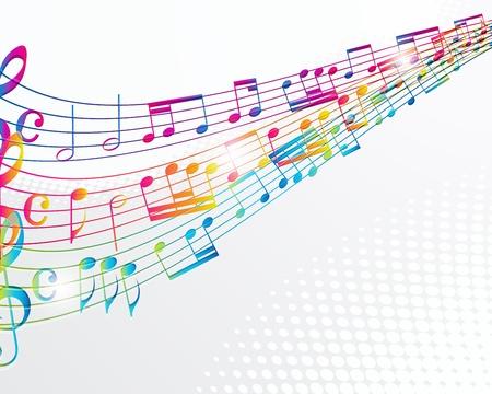 are sound: M�sica de fondo abstracto. Vectores