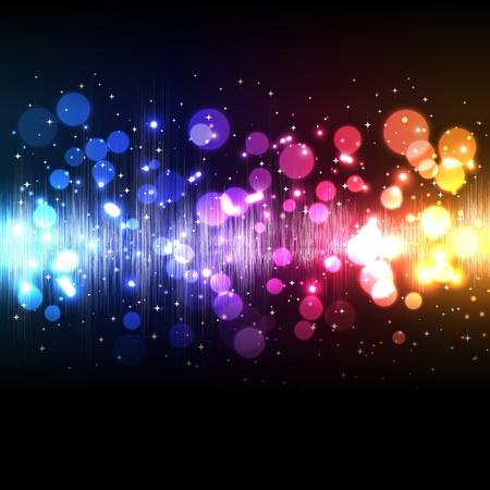 electronic music: Onda di equalizzatore musica vettoriale