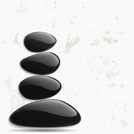 Abstract meditation background. Vector