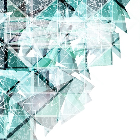 vector abstract techno background  Vector