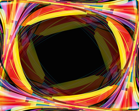 rainbow slide: Rainbow techno web background.