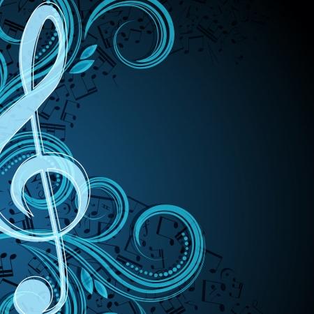 Note musicali vettore sfondo