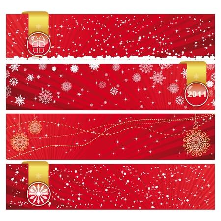 Christmas Horizontal Banner  photo