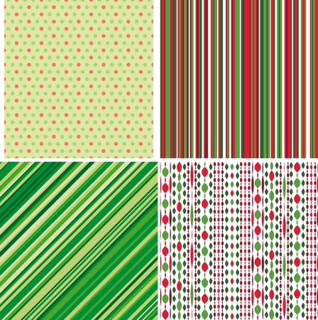 Set of Christmas backgrounds photo