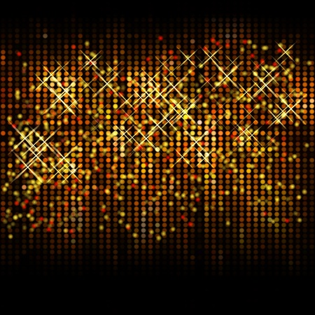 Abstract christmas glitter vector background