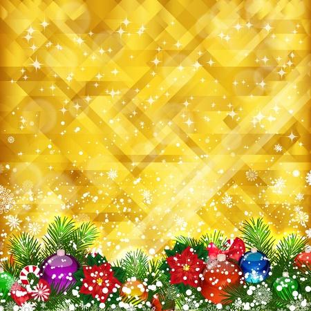 Stars sfondo dorato e il luogo per il testo, vettore, EPS 10