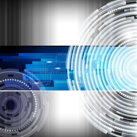 Resumen digital de tecno de fondo - ilustración