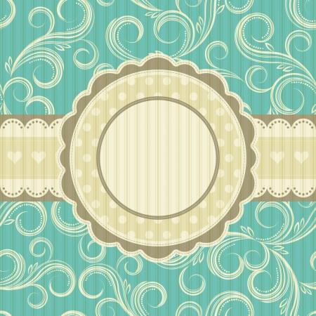 arabesque: fondo floral adornado