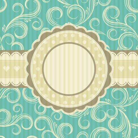 arabesque pattern: ornate floral background