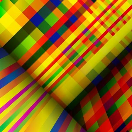 motley: Motley sfondo a strisce astratto. Vettoriali