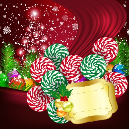 Christmas background  illustration Stock Vector - 15708741