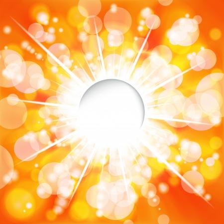 Sunny background. Vector. Stock Vector - 17660077