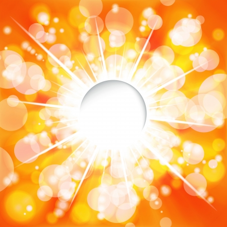 Sunny background. Vector. Stock Vector - 17660077