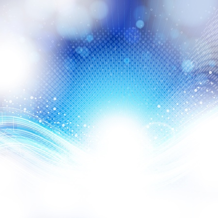abstract blue and light background.  Vector