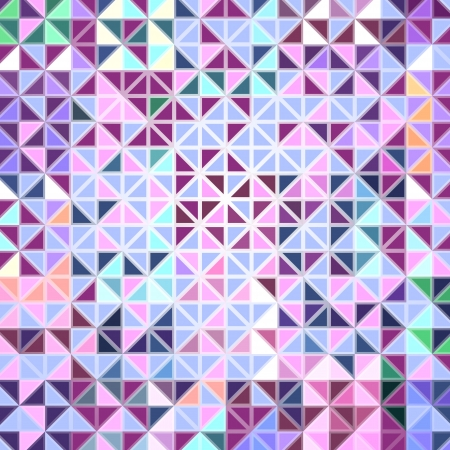 Colorful Mosaic Abstract Vector Background  Stock Vector - 17660091