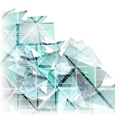 vector abstract techno background Stock Vector - 17660331