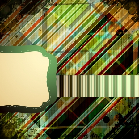 Abstract Retro Background. Vector Illustration. Vector