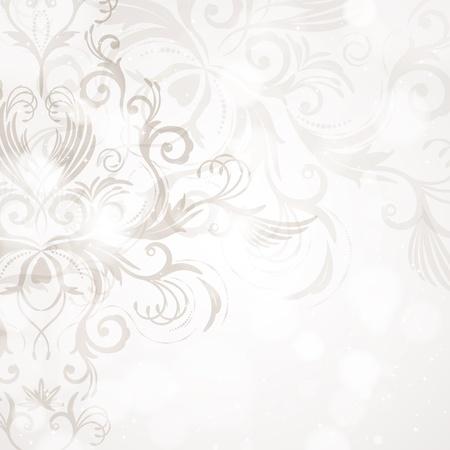 twirl: Fondo floral abstracto
