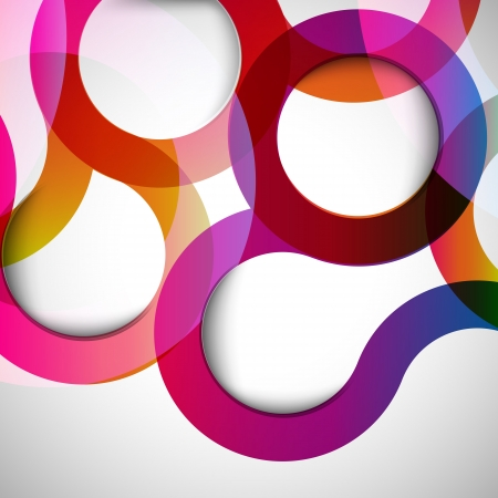circle design: Abstract background with design elements. Illustration