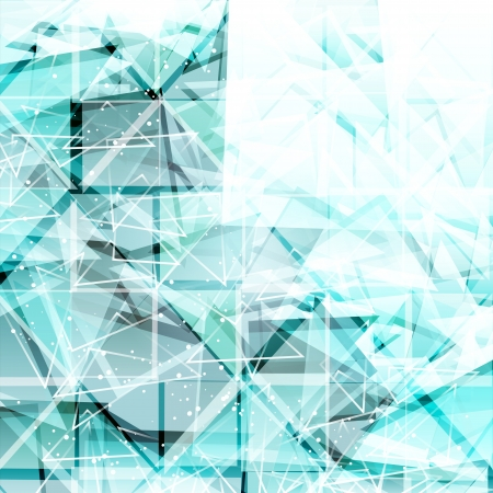 Abstract light blue techno background. Vector illustration  Vector