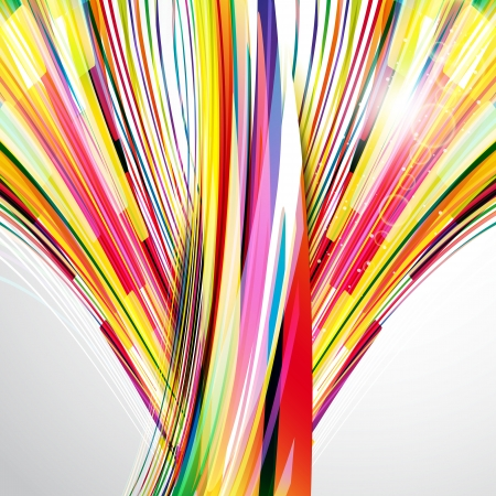 synergy: Abstract bright background.