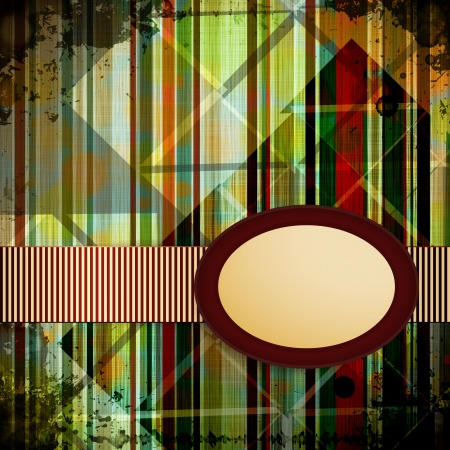 Abstract Retro Background.  Illustration. Vector