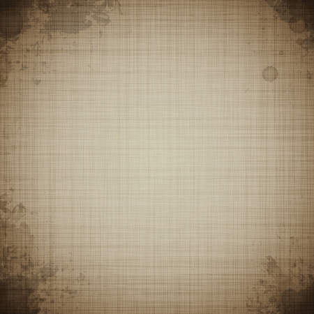 linen paper: old canvas texture grunge paper background  Illustration