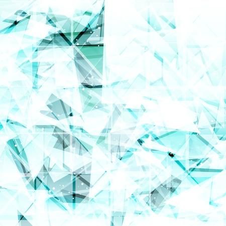 Abstract light turquoise techno background. Vector illustration  Illustration