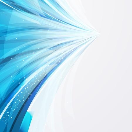 abstracte vector achtergrond wiht transparant blauw-grijze elementen.