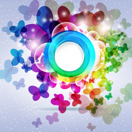 Abstract colorful background  Vector illustration  Vector