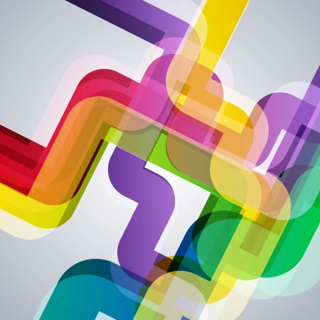 Abstract pipes background with vector design elements. Vector