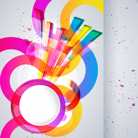 Abstract background with vector design elements. Vector