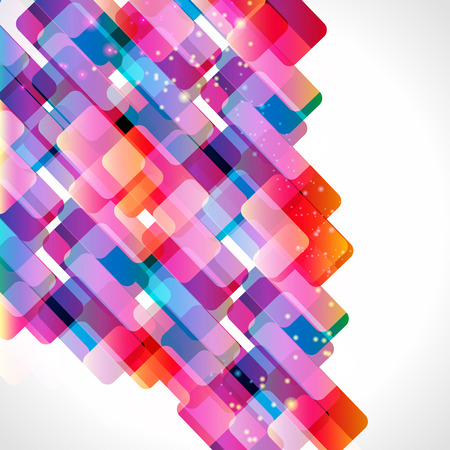 rectangle patterns: Multicolor abstract bright background.