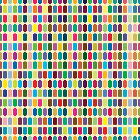 Multicolor abstract bright background with ovals. Elements for design.  Vector
