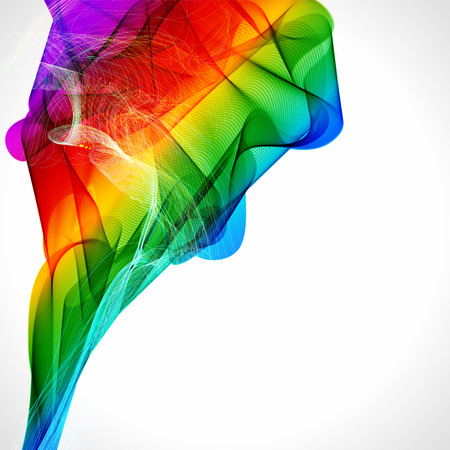 rainbow colours: Multicolor abstract bright background. Elements for design. Eps10. Illustration