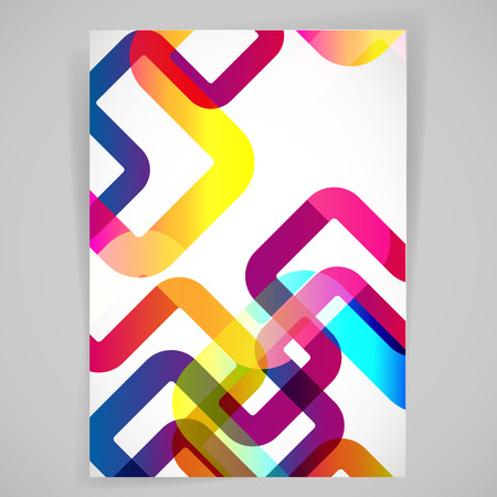 abstract backround: Abstract background with rounded design elements.