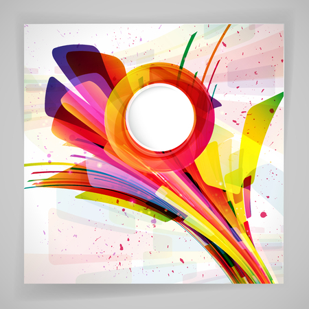 Multicolor abstract bright background. Elements for design. Stock Photo