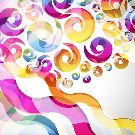 Abstract design: abstract  background with design elements. vector