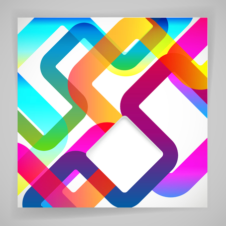backround: Abstract background with rounded design elements.
