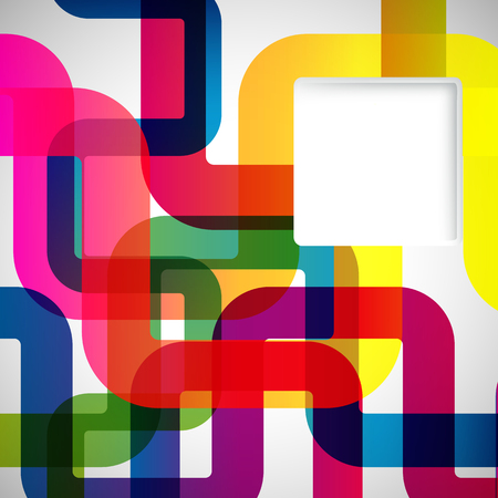 abstract design elements: Abstract background with rounded design elements.