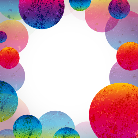 abstract circles: Multicolor abstract bright background. Circles elements for design. Eps10.