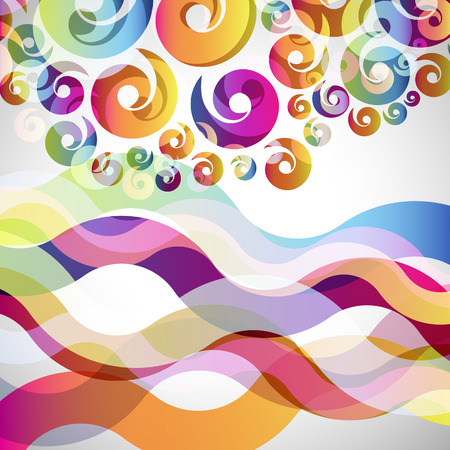 abstract design elements: abstract  background with design elements.