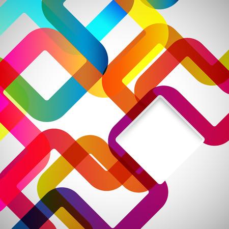 Abstract background mit abgerundeten Design-Elemente.