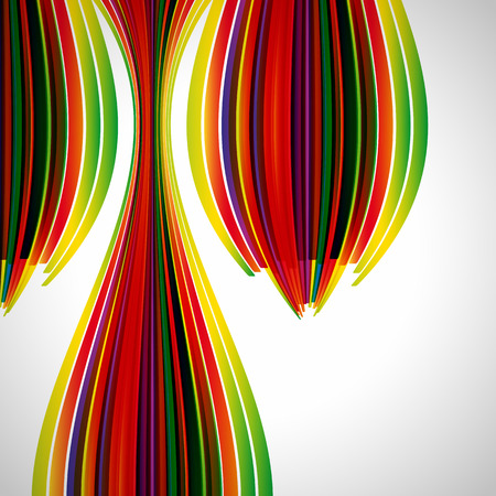 abstract design elements: Multicolor abstract bright background. Elements for design. Illustration