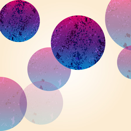 multi color: Multi color abstract bright background. Circles elements for design. Illustration