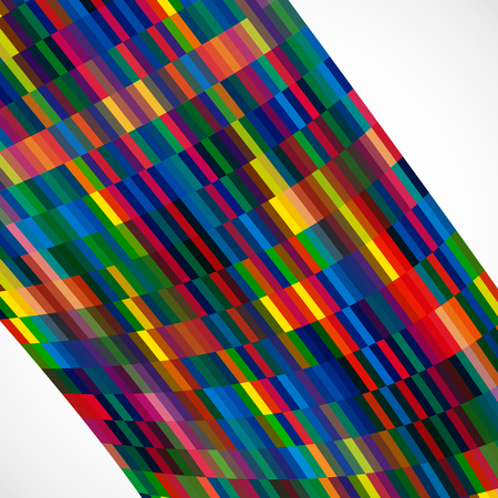 scraps: Multicolor abstract  background with bright elements for design.